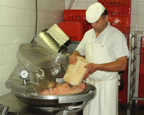 Produktion-Fleischerei-Richter-Meissen